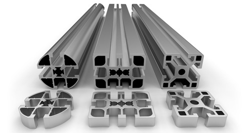 Aluminum Extrusions for Medical Carts