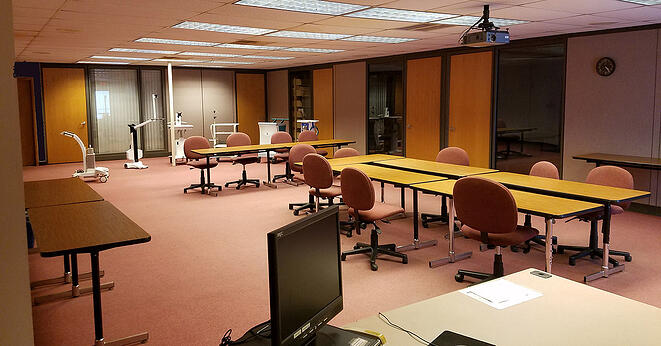 LTC Conference Room before Remodel