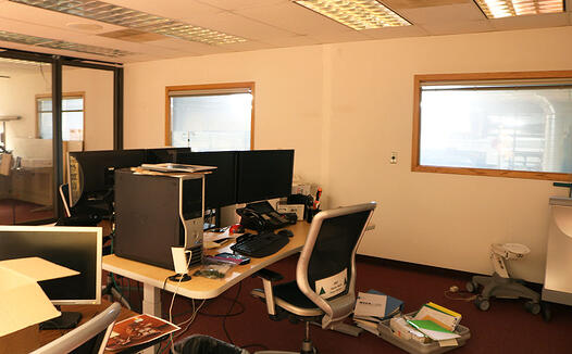 MBD Office Remodel In Process