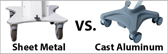 Sheet Metal vs. Cast Aluminum Base