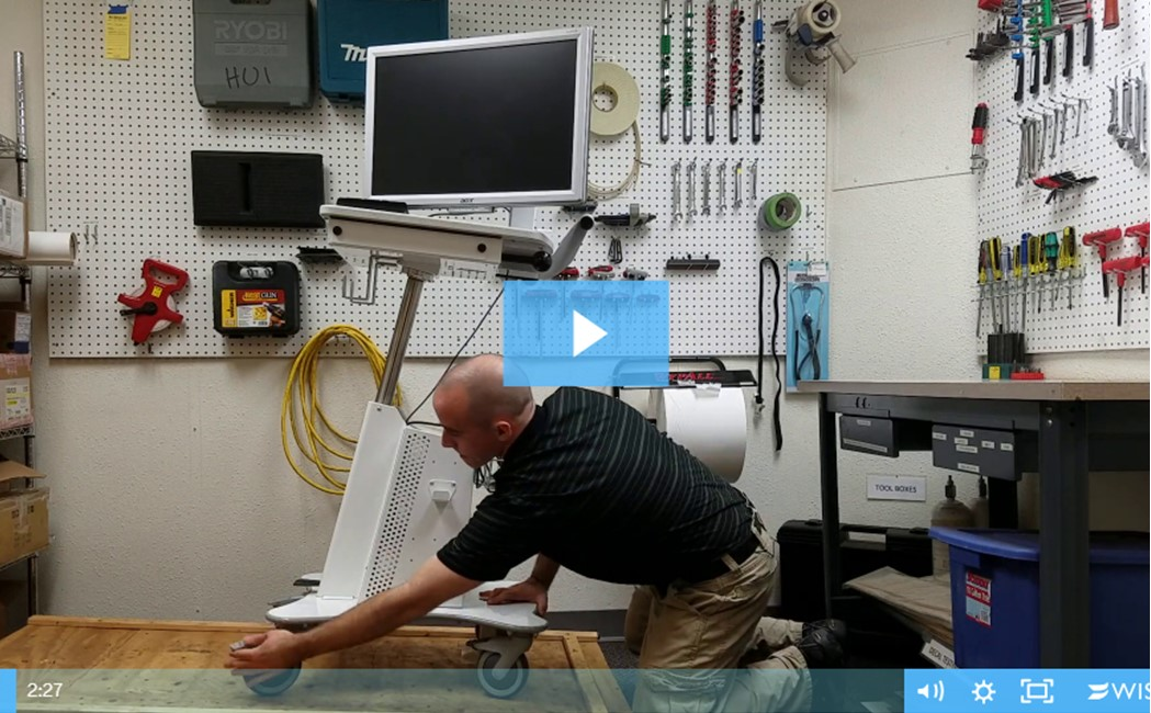 60601 Instability from Unwanted Lateral Movement in Non Transport Mode (Part A) Video