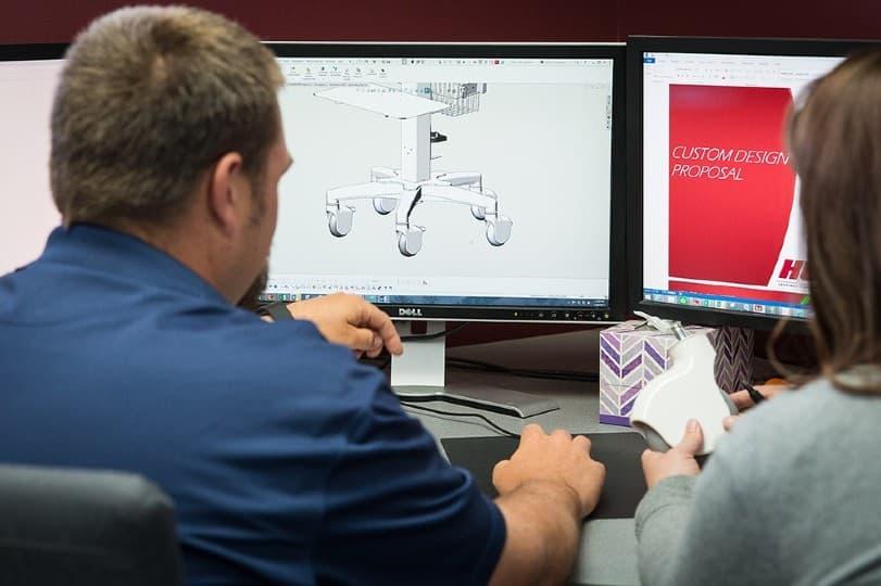 Medical Cart Manufacturer Can Design-In Savings