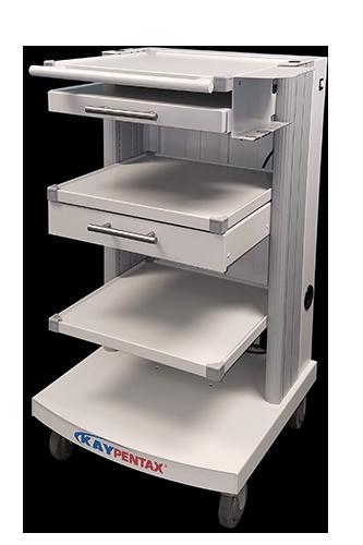 Custom Medical Workstation on Wheels - Kaypentax