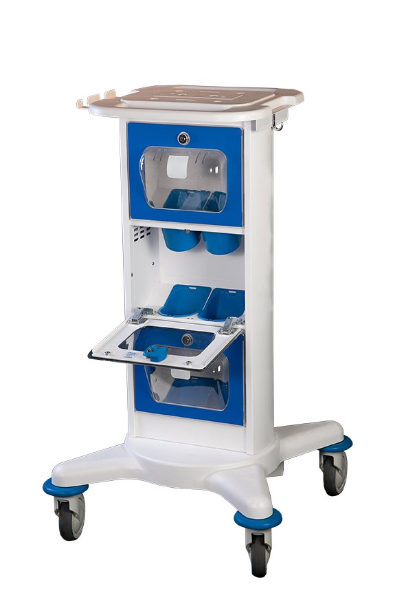 Nitrous Oxide Medical Cart