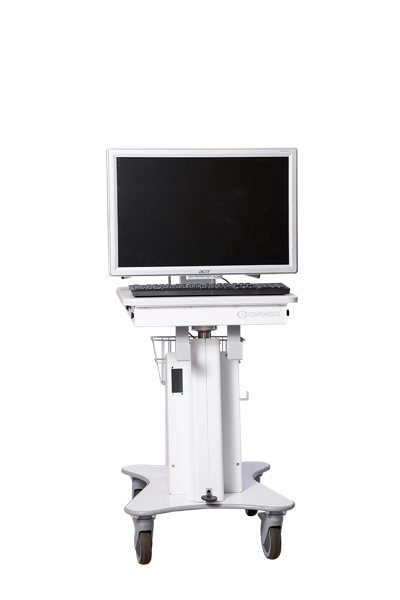 Custom Medical Laptop Cart - Compumedics