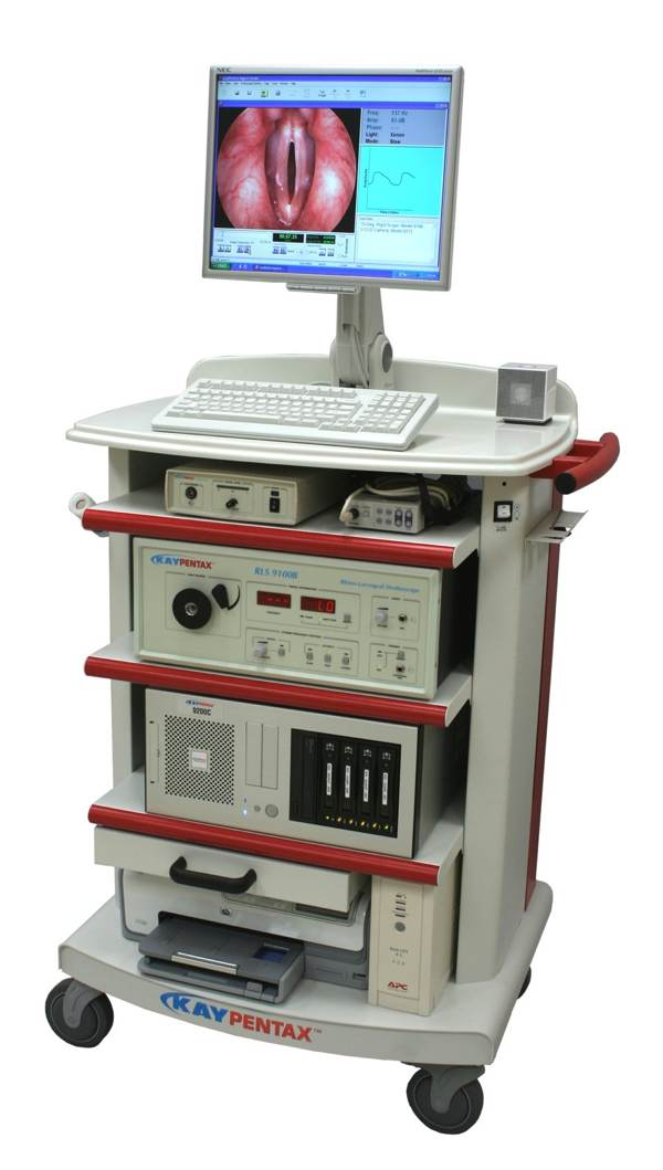 Custom Endoscopy Cart - KayPENTAX