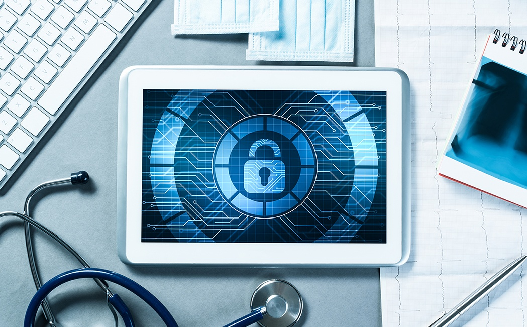 Medical Device Cybersecurity_tablet_Computer_Medical Background_72